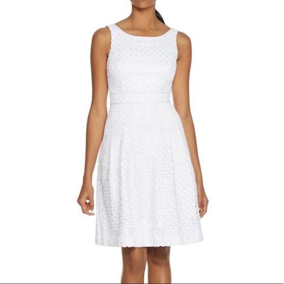 718b2eec305ad White House Black Market Dresses   Whbm Textured Embroidered Eyelet ...